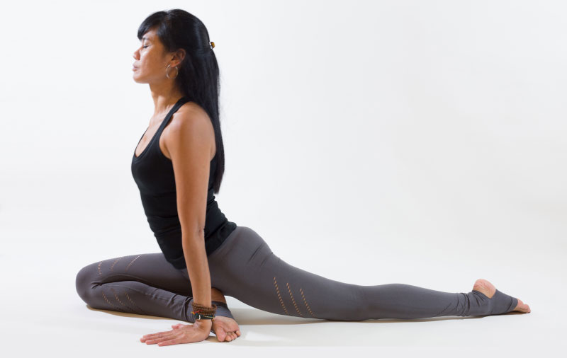 Yin Yoga position The Yoga Rescue