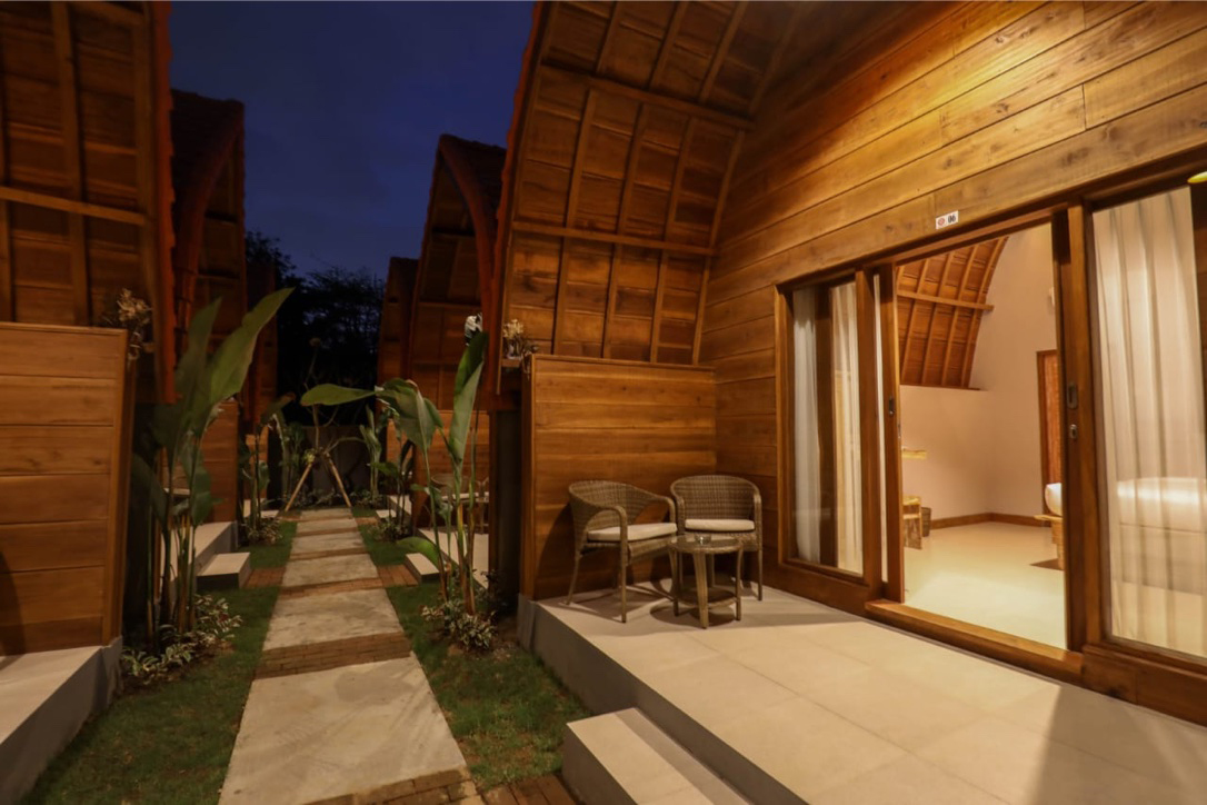 Classic Balinese cabin