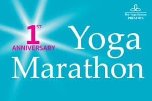 Yoga Marathon - The Yoga Rescue